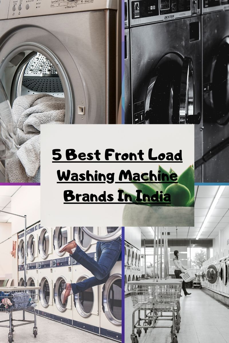 best front load washing machine brand in India